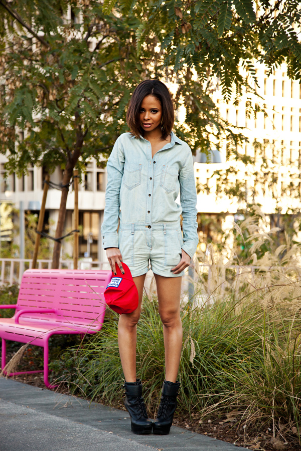 From the Closet: The Denim One-Piece